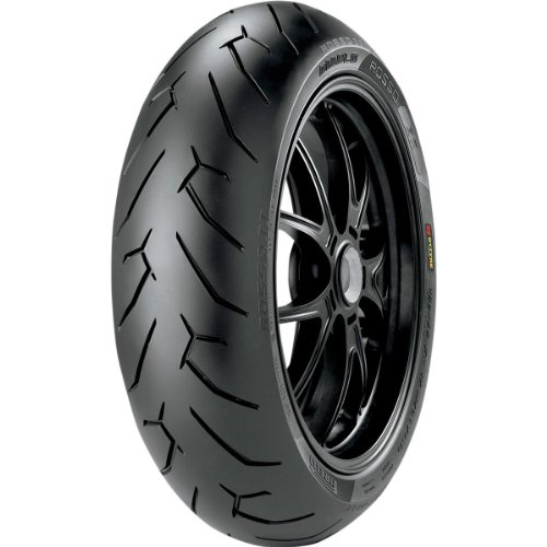 Pirelli Diablo Rosso II Tire - Rear - 140/70ZR-17 , Tire Type: Street, Tire Application: Sport, Position: Rear, Tire Construction: Radial, Load Rating: 66, Speed Rating: H, Tire Size: 140/70-17, Rim S...