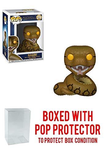 (Funko Nagini: Fantastic Beasts - The Crimes of Grindelwald x POP! Vinyl Figure & 1 POP! Compatible PET Plastic Graphical Protector Bundle [#029 / 36150 - B])