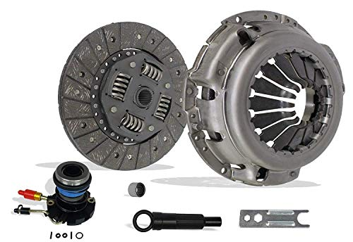 (Clutch And Slave Kit works with Ford Ranger Mazda Pickup B2300 B2500 B3000 Limited Sport Xl Xlt Edge 1995-2011 2.3L L4 Dohc 2.5L L4 Sohc 3.0L V6 Ohv )