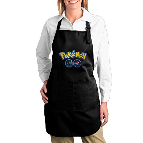 [Poke Mon GO Kitchen Aprons For Women Men,Cooking Apron,bib Apron With Pockets] (Toddler Gardener Costume)