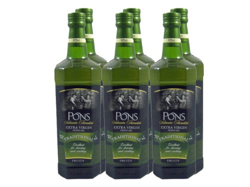 Pons Extra Virgin, 34-oz (Pack de 6): Amazon.com: Grocery ...