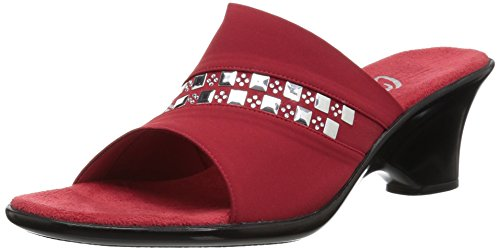 O NEX Red Onex Sandal Women's Wedge Maggy AH1BwqAg