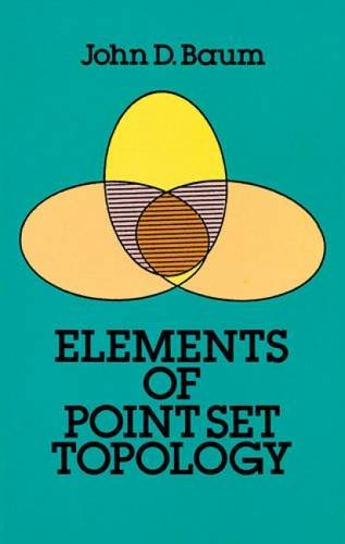 Elements of Point-Set Topology (Dover Books on Mathematics)