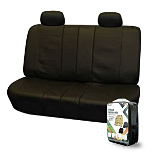 Amazon Com Fh Pu007012 Deluxe Leatherette Bench Seat