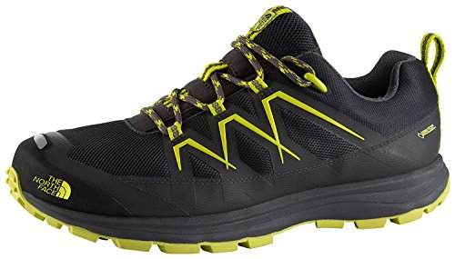 The North Face–Hombre Zapatos tamaro GTX DRKSHADWGRY/SULPHRSPRGGRN