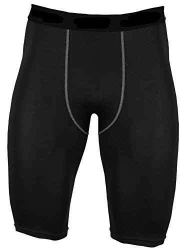 LANBAOSI Mens Compression Wear Stretch Breathable + Quick-Drying Shorts