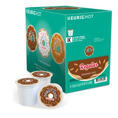 The Original Donut Shop Keurig Single-Serve K-Cup Pods, Regular Medium Roast Coffee, 72 Count by The Original Donut Shop