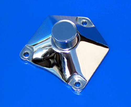 Chrome Solenoid Starter Button Cover for Harley-Davidson by Demons Cycle