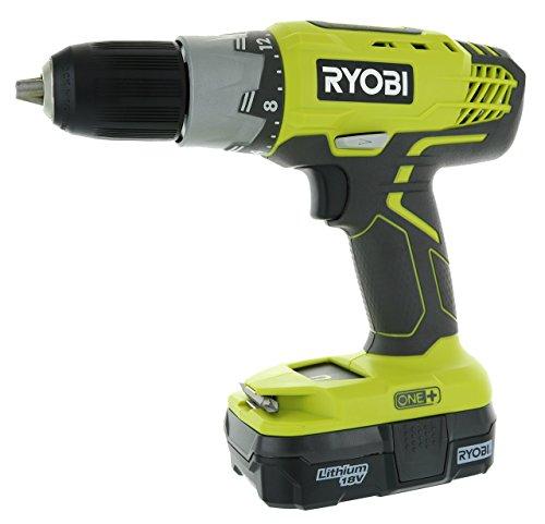 Ryobi P1832 18V One+ Handheld Drill/Driver and Impact Driver Kit (6 Piece Bundle, 1x P277 Drill/Driver, 1x P235 Impact Driver, 1x P118 Dual Chemistry Charger, 2x P102 18V Batteries, 1x Tool Bag)