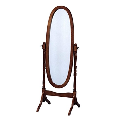 Milton Greens Stars Eleanor Full Length Mirror Oak ()