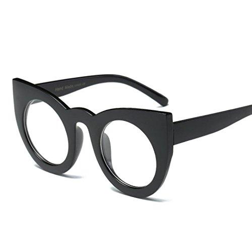 Aviator Retro Glasses Unisex Fashion Mirror Lens Sunglasses (G, - Sunglasses B&g