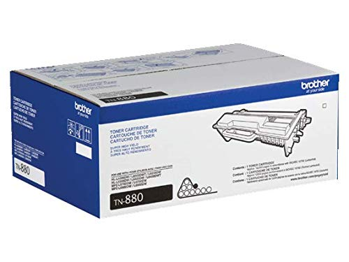 Brother Genuine TN-880 (TN880) Super High Yield Black Laser Toner Cartridge 2-Pack