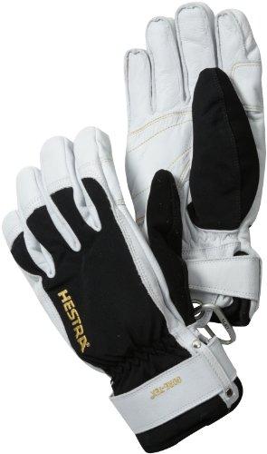 - Hestra XCR Short Glove, Black/Off White, 9