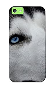 Trolleyscribe Case Cover Animals Dogs Siberian Husky / Fashionable Case For Iphone 5c