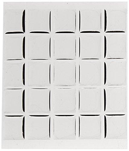 - Beadaholique 100-Piece Epoxy Stickers, Fits Scrabble Tiles or Pendants, 18.5 by 20.4mm