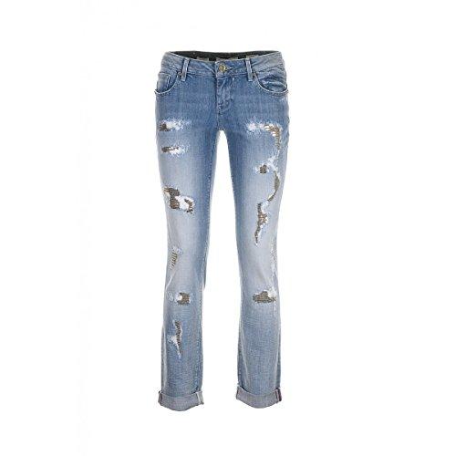 Fracomina Jeans 25 Donna Paiettes Taglia n5HHrxqwF8