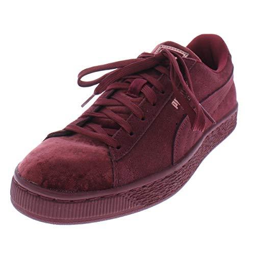 wholesale dealer 488cc 5f224 PUMA Women's Suede Classic Velvet Wn Sneaker, Cordovan, 7 M US