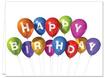 Amazon.com: Globo celebración – 36 – Tarjetas de cumpleaños ...