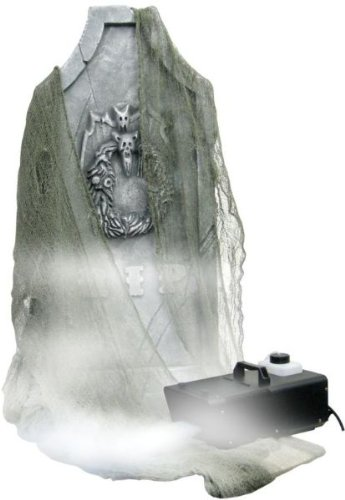 Froggys Fog - Ground Fogger - Great for Halloween Decorations, Graveyards and Dance Floors - All Metal, Best with Froggy's Freezin or Cryo Freeze Ground Fog, Timer and Wireless Control Options