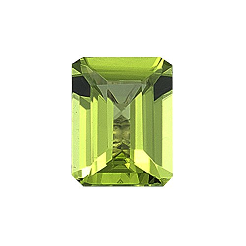 2.20 Cts of 9X7 mm AAA Emerald Peridot ( 1 pc ) Loose Gemstone by Mysticdrop