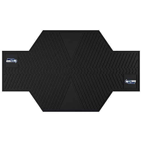 FANMATS 15334 NFL Seattle Seahawks Motorcycle Mat by Fanmats