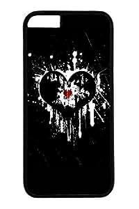 Cool Graffiti Love Slim Hard Cover Case For Iphone 5C Cover PC Black Cases