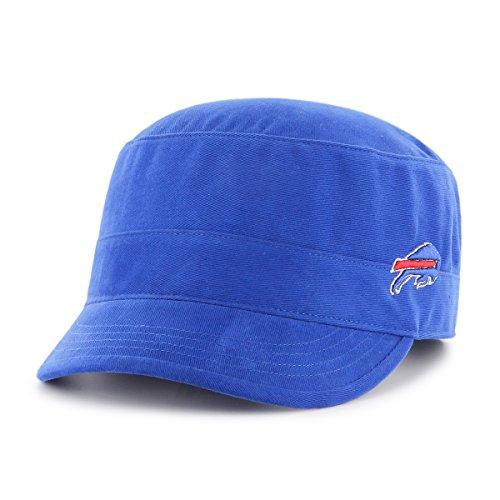 NFL Buffalo Bills Women's Shipmate OTS Cadet Military-Style Adjustable Hat, Sonic Blue, Women's