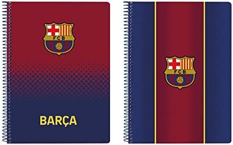 Cuaderno 80 Hojas A5 de F.C. Barcelona 1ª Equipación 20/21, Tapas Duras, 155x220mm: Amazon.es: Oficina y papelería