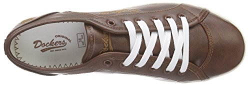 Dockers by Gerli Damen 27ch221-610410 Sneakers Braun (Reh 410)