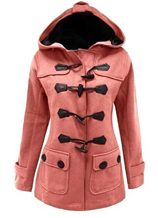 a68552080b62 Candy Floss LADIES FLEECE JACKET DUFFLE STYLE TOGGLE COAT SIZE 8-20 ...