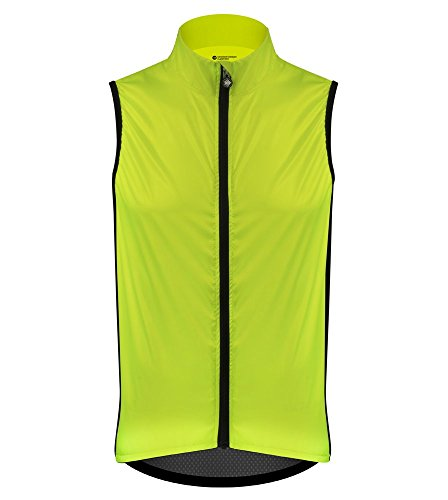 Classic Cycling Vest - Made in The USA (3XL) Safety Yellow