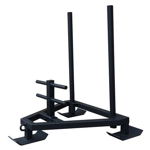 Commercial Grade Push/Pull Sled / Improve Speed & Explosiveness / Removable Handles for Storage / 800lb Weight Capacity by OneFitWonder