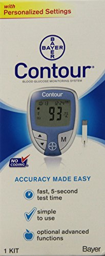 Bayer-Contour-Blood-Glucose-Monitoring-System-Model-9545C
