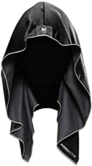 Mission Cooling Hoodie Towel- Hood Towel, Evaporative Cool Technology, Cools Instantly when Wet, UPF 50 Sun Pr