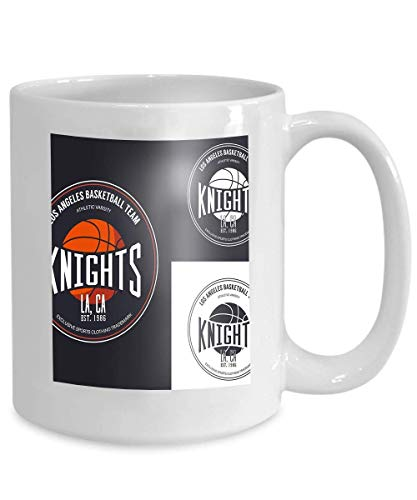 (mug coffee tea cup basketball logo design streetball sportswear ball varsity university team playfield center championship competition 110z )