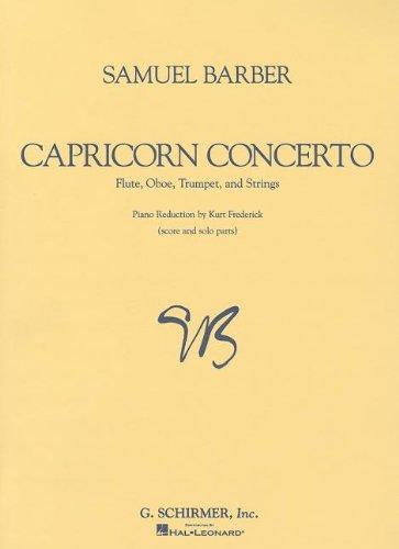 Capricorn Concerto: Score and Parts