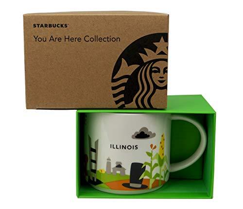 Starbucks Illinois You Are Here Collection Mug