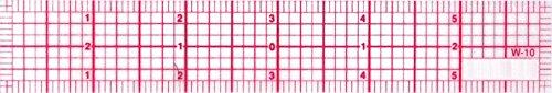 "Price comparison product image Westcott 8ths Graph Ruler,  1 x 6"",  Transparent (W-10)"