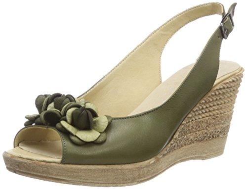 1675718 Sandals Oliv 042 Heels Conti Women's Green Andrea WInq5YHx