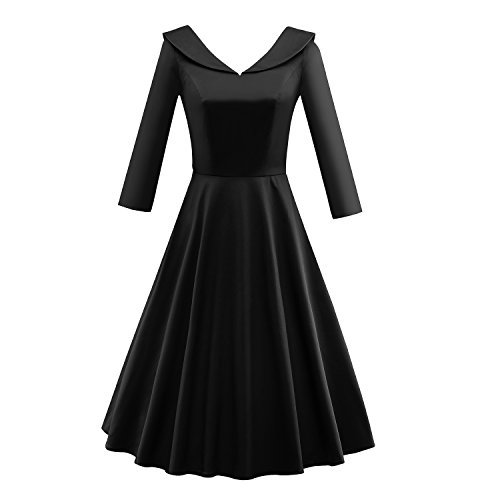 LUOUSE Womens Vintage Rockabilly Evening product image
