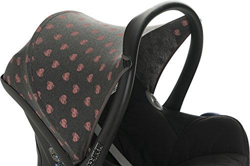 White Star Pebble JANABEBE Hood Canopy Compatible with Maxi COSI Cabriofix
