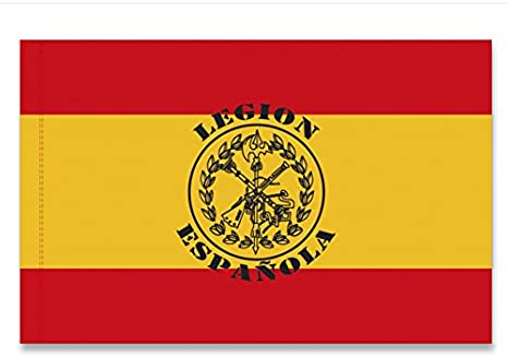 TAOK Bandera ESPAÑA Estampado Legion ESPAÑOLA: Amazon.es: Deportes y aire libre