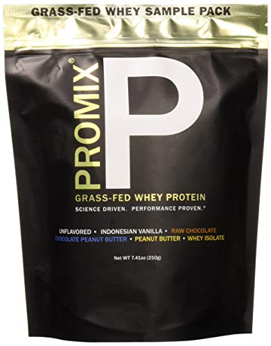Whey Protein Powder Sample Pack: PROMIX Standard 100 Percent All Natural Grass Fed