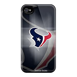 Quality JenniferTziamouranis Cases Covers With Houston Texans Nice Appearance Compatible With Iphone 6plus