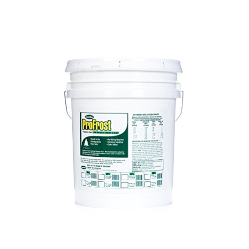 Green Chiller - ComStar 35-751 ProFrost Chiller/Anti Freeze/Heat Transfer Fluid with Corrosion Inhibitor and Color, 40% Solution Ratio, 5 gal Pail, Fluorescent Green
