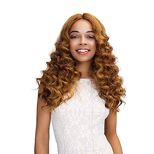WONdere Women Fashion Golden And Large Wigs In Cosplay Party Wig ()
