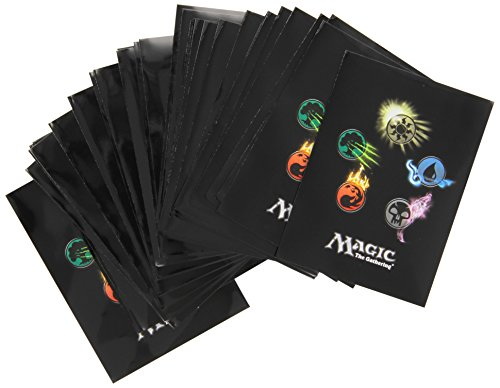 The Sleeves Gathering Magic (Ultra Pro Mtg Mana 4 Symbol Deck Protector Sleeves (80) by Ultra Products)
