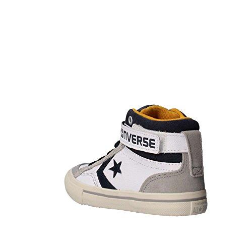 Sneakers CONVERSE pro blaze strap hi 658883C/WHITE/GOLDEN pelle bianco, nuova collezione autunno inverno 2017/2018 Blanco