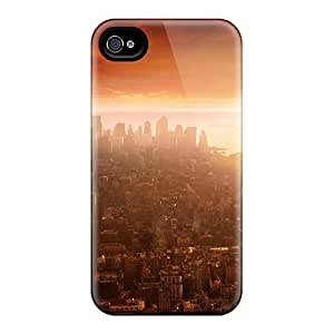 Snap-on Cases Designed For Iphone 6- Fly Air Game Scene