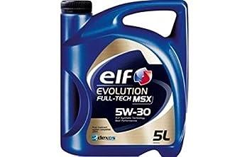 Elf - Aceite Motor Evolution Full-Tech msx 5 w30 - garrafa ...